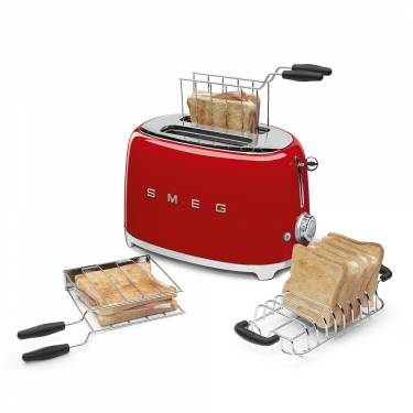 Smeg TSF01RDEU Toaster