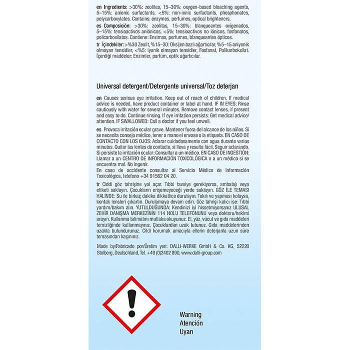WA UW 2702 P UltraWhite Detergent