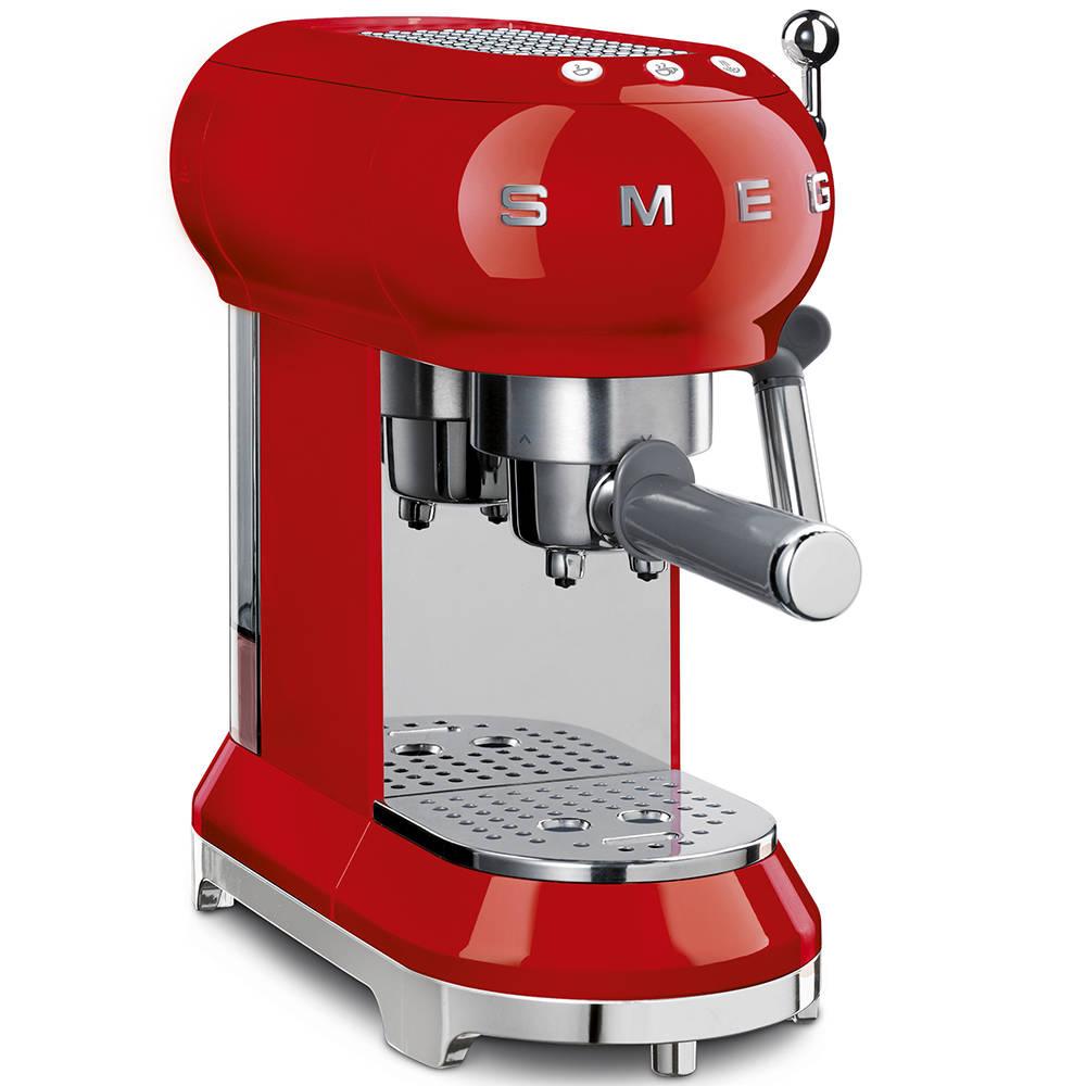 smeg ECF01PRDUK red espresso coffee machine