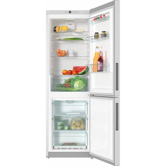 KFN 28132 D Clean Steel Miele Fridge Freezer 1