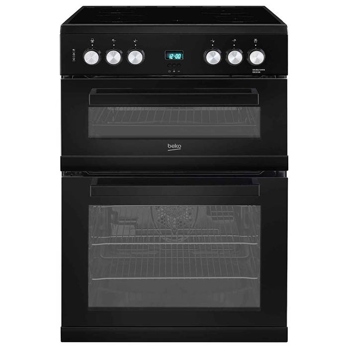 EDC633K Beko Electric Cooker Double Oven and Grill 1