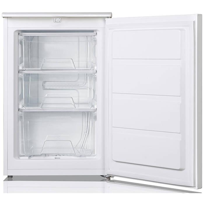 U5517W Lec Freestanding Undercounter Freezer 3 drawers 55cm 1