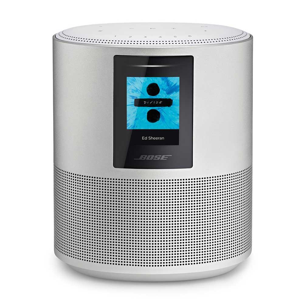 Bose Home Speaker 500 in silver luxe