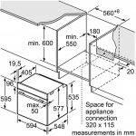 eff B4ACF1ANOB Slide and Hide oven