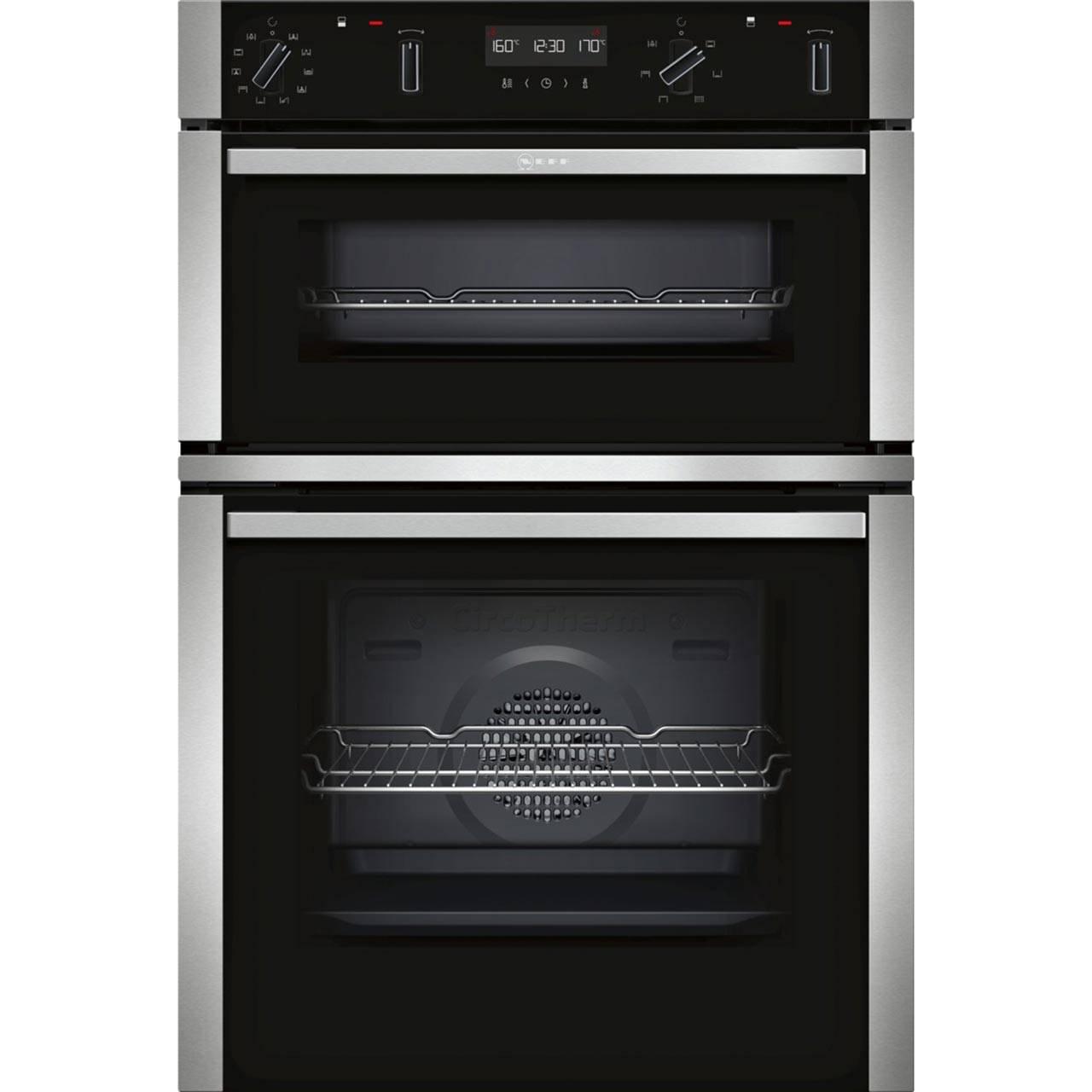Neff U2ACM7HNOB builtin double oven