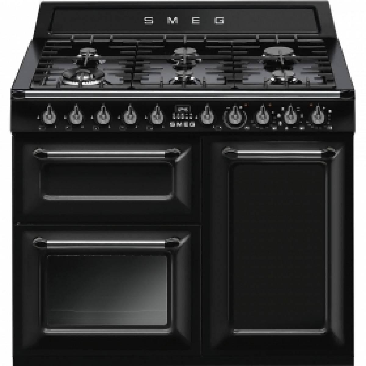 Smeg TR103BL Dual Fuel Range Cooker