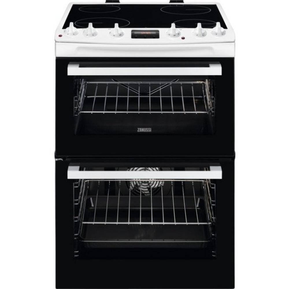 Zanussi ZCV66078WA Electric Cooker