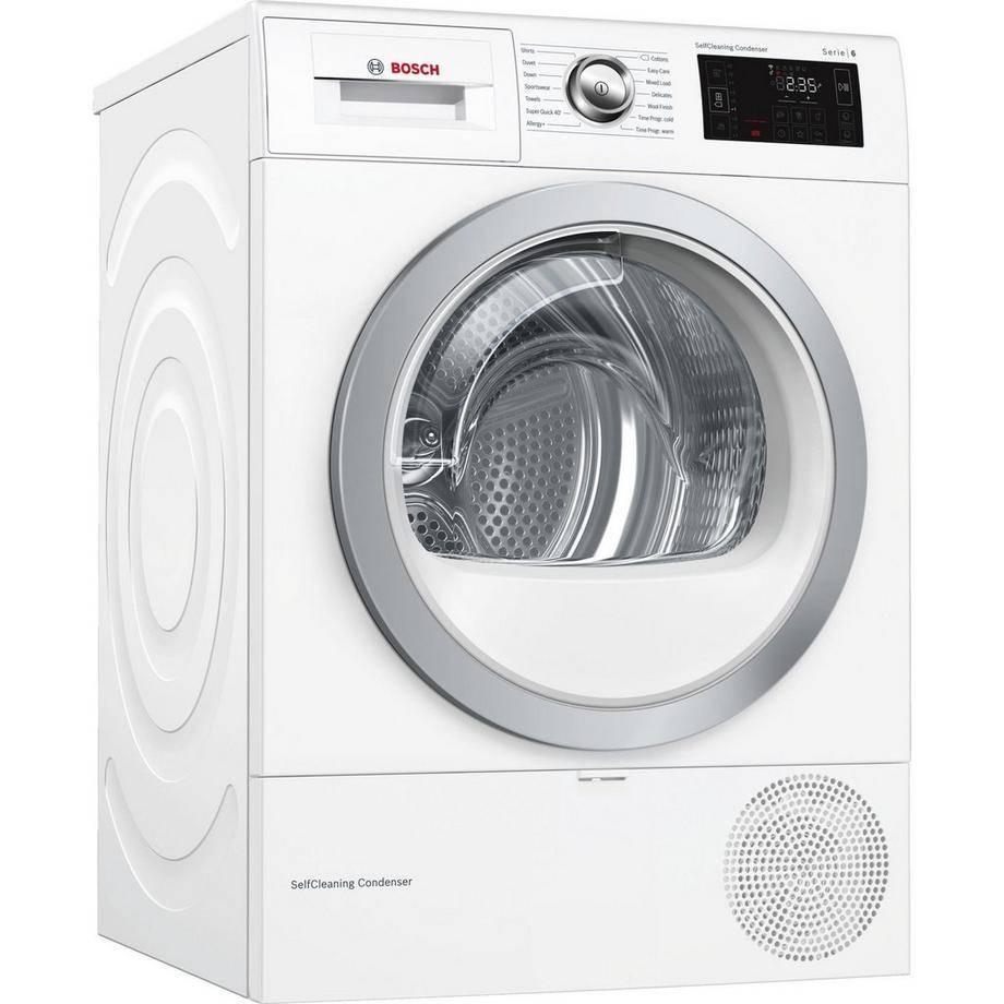 Bosch WTWH7660GB Condenser Tumble Dryer