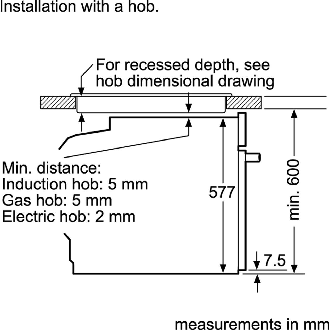Bosch HBG6764B6B Single Oven