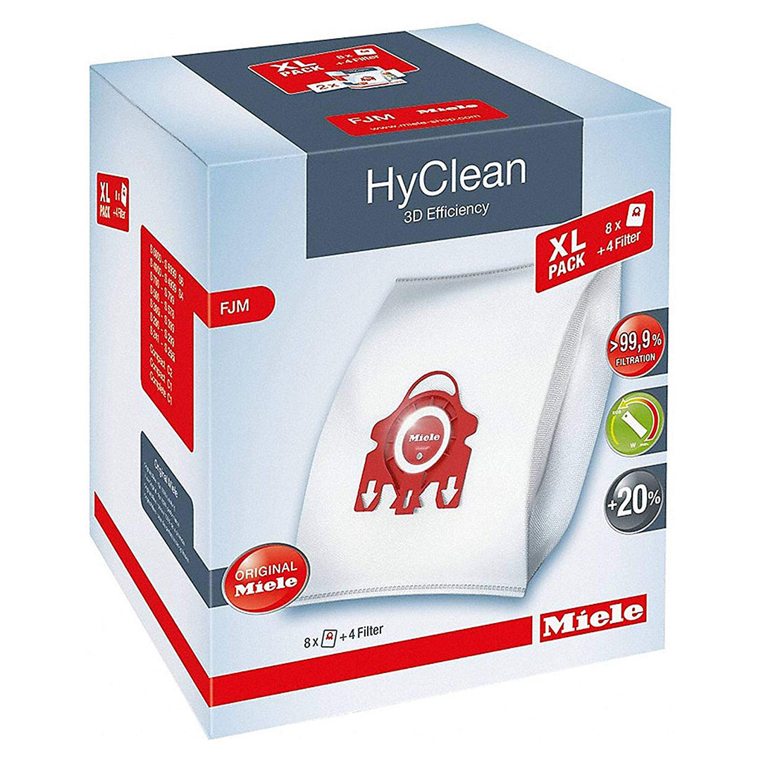 XL-Pack HyClean 3D Efficiency FJM 8 HyClean FJM dustbags at a discount price