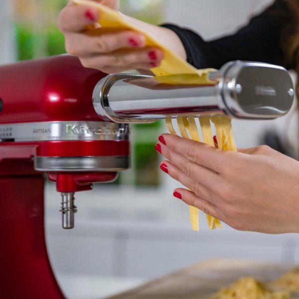 KitchenAid 5KSMPRA Pasta Roller and Cutter Stand Mixer Attachments