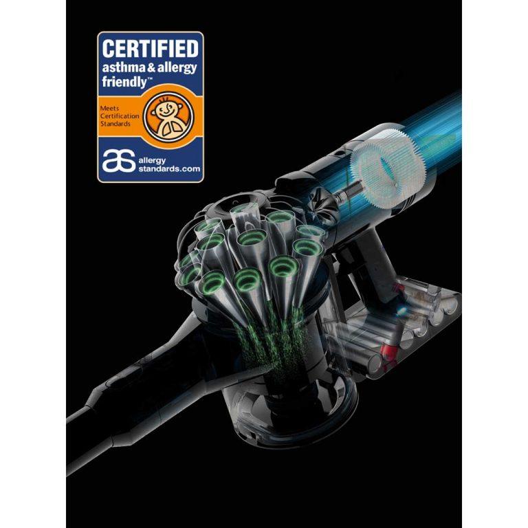 Dyson V7 Animal Plus Cordless Stick Vacuum Cleaner – Purple