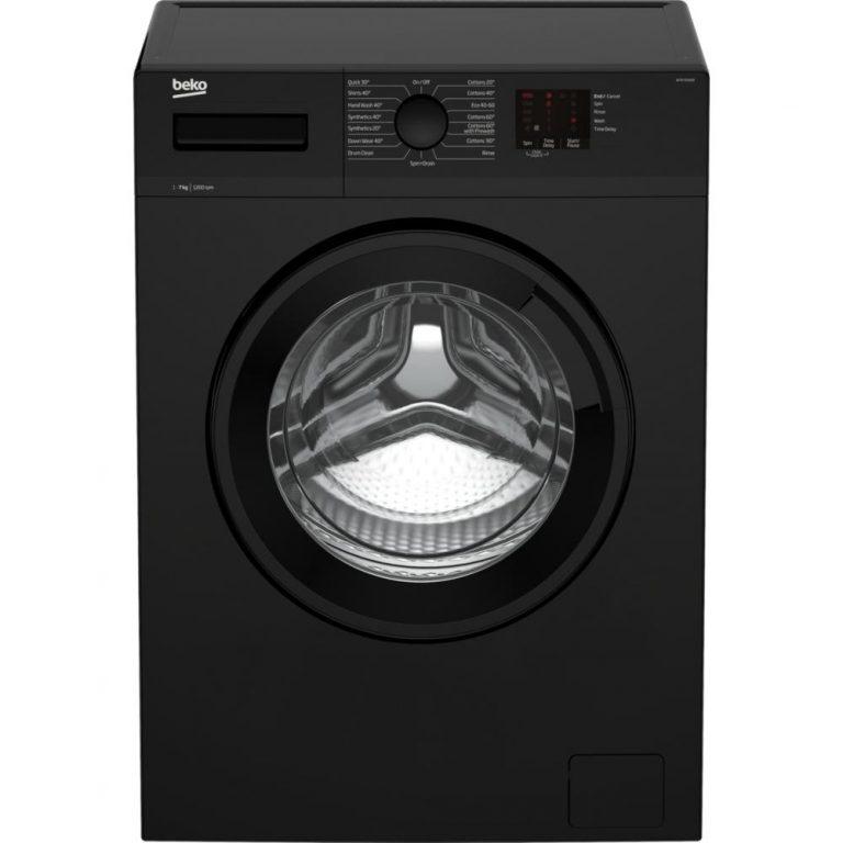 Beko wtk72041b black washing machine