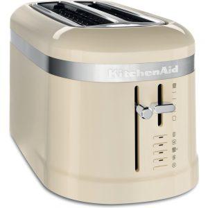 KitchenAid Almond Cream 2 slot toaster