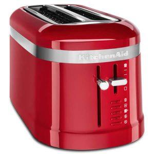 KitchenAid Empire Red 2 slot toaster