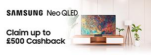 Samsung Neo QLED Cashback offer