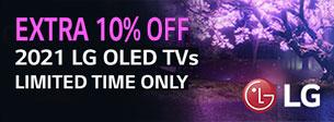LG TV 10% off offer