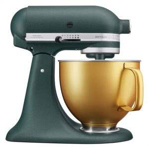 Limited Edition KitchnAid Pebble Palm and Gold bowl stand mixer