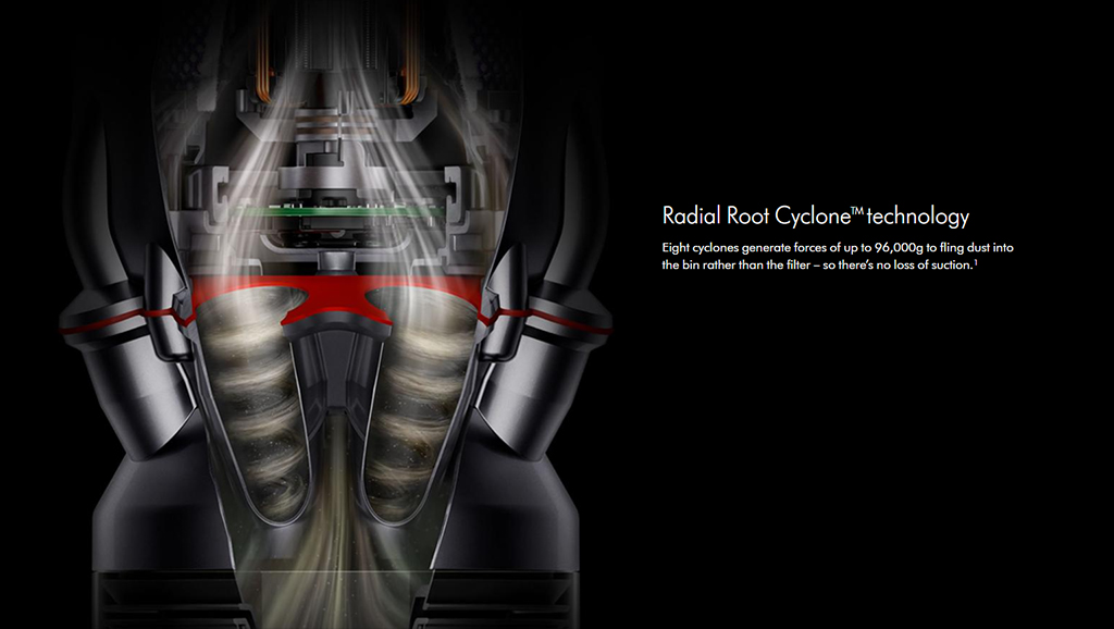 Dyson - Radial root cyclone technology