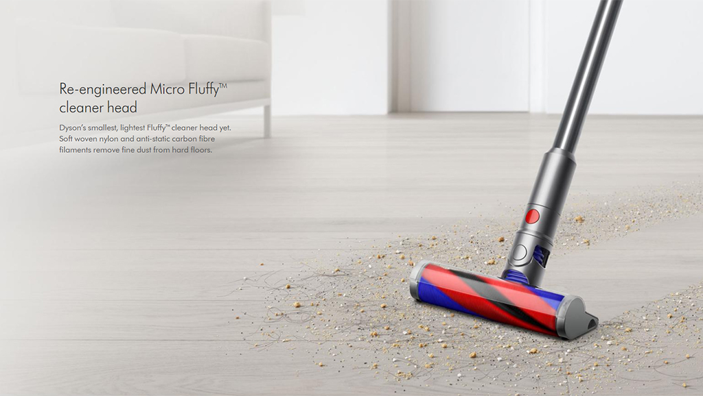 Dyson - Re-engineered Micro Fluffy cleaner head