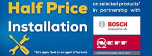 Half price install Neff & Bosch