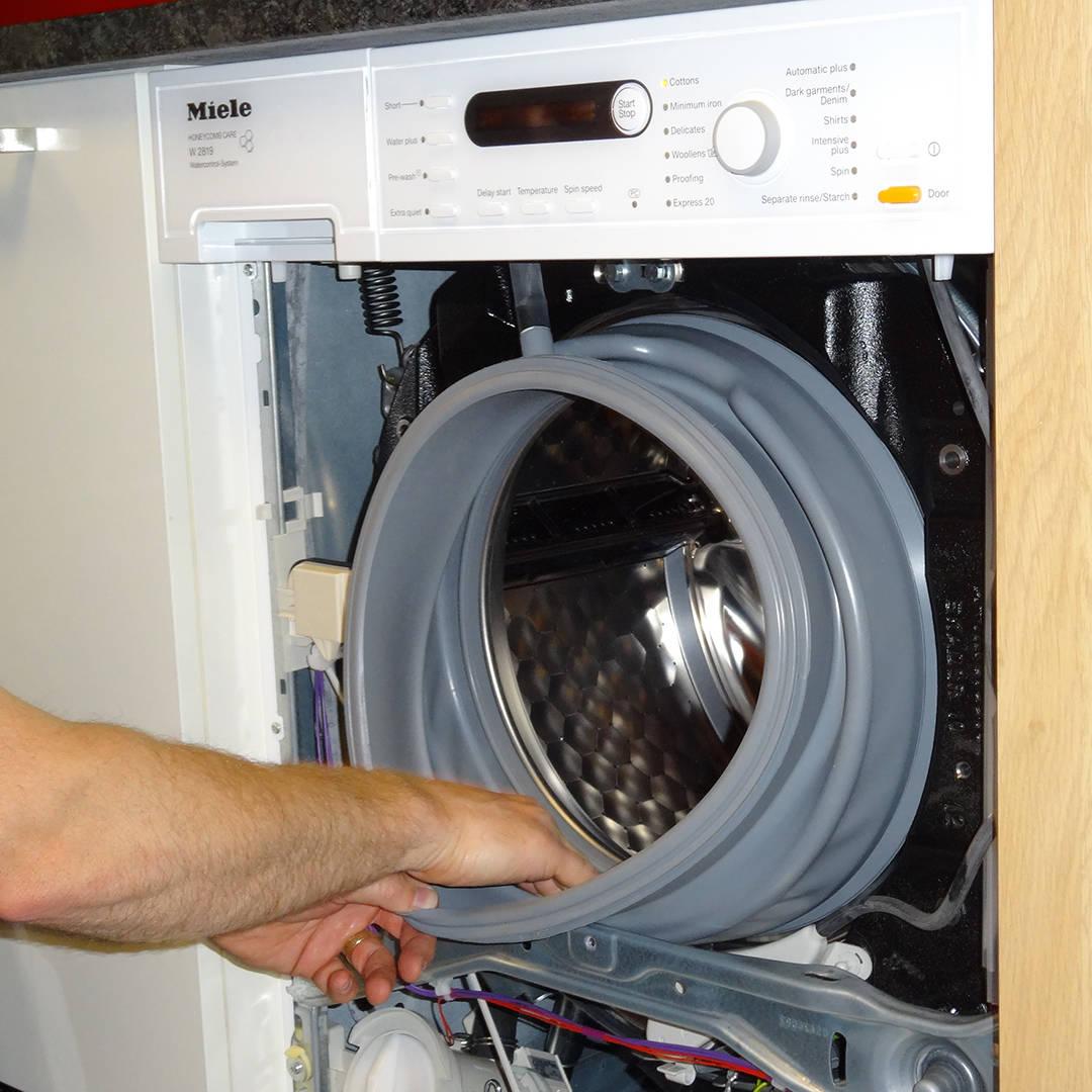 Miele Washing Machine In Repair Gerald Giles