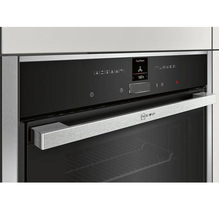 neff b57cr22n0b built in oven slide hide oven shift. Black Bedroom Furniture Sets. Home Design Ideas