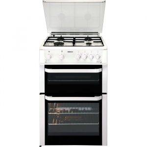 Beko BDVG693WP Gas Double Oven 60cm