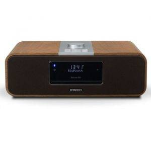 Roberts Radio BLUTUNE200CHERRY DAB/FM/CD Bluetooth Stereo System Limited Edition