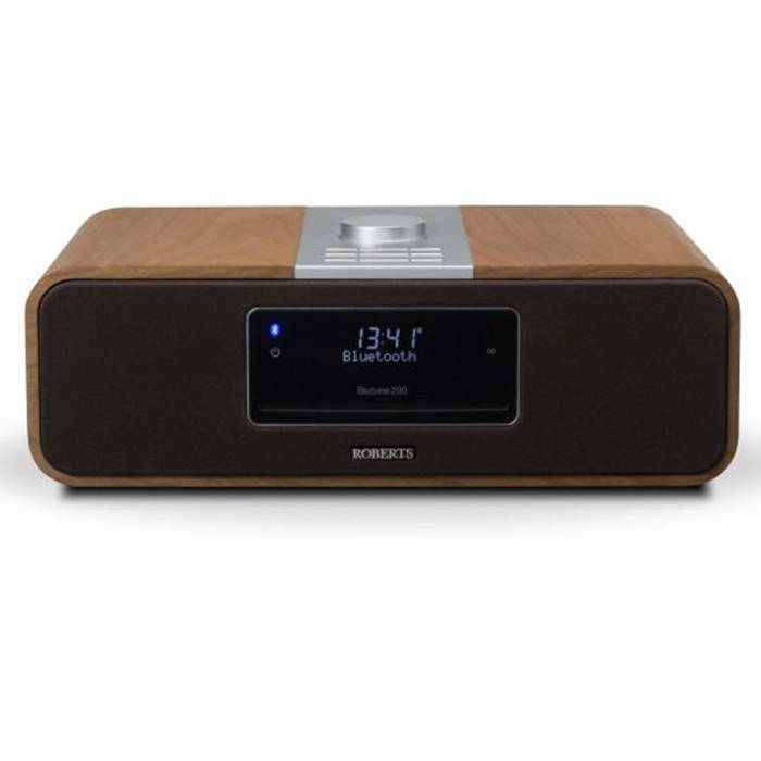 roberts radio blutune200cherry dab fm cd bluetooth stereo. Black Bedroom Furniture Sets. Home Design Ideas