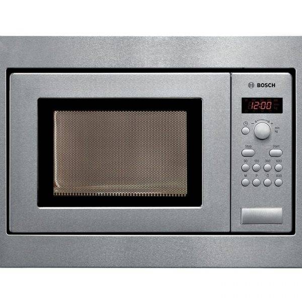 Bosch HMT75M551B Built In Compact Microwave 36cm high 50cm wide
