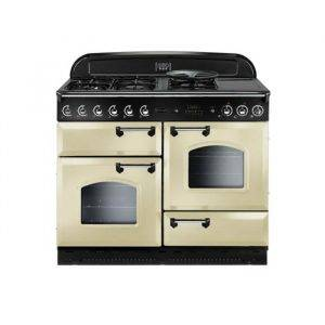 Rangemaster CLAS110DFFCRC 73010 Classic Rangemaster 110cm Cream with Chrome Trim