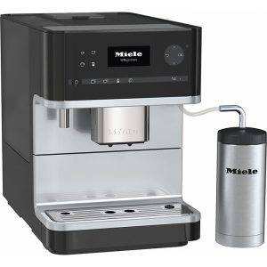 Miele CM6310 Countertop Coffee Machine With Heated Cup Rack For Perfect Coffee