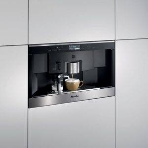 Miele CVA6431CLST 35cm Built in Nespresso Coffee Machine