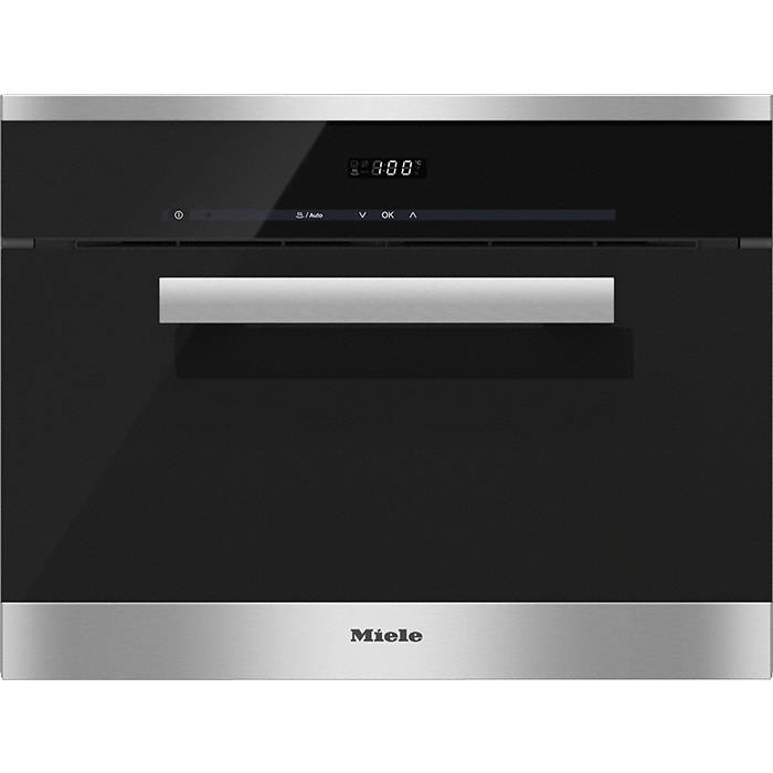 miele dg6200 pureline 45cm steam oven with easy sensor controls gerald giles. Black Bedroom Furniture Sets. Home Design Ideas