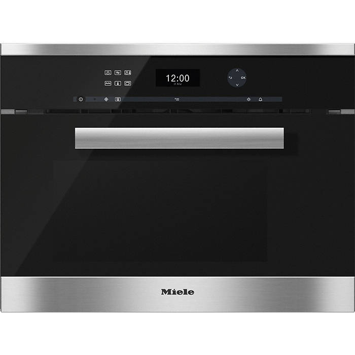 Miele Oven And Microwave: Miele DGM6401 PureLine Compact Steam Oven With Microwave