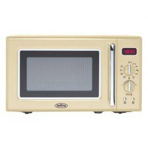 Belling FMR2080S-CRM 20 Litre, 800W Retro Style Microwave