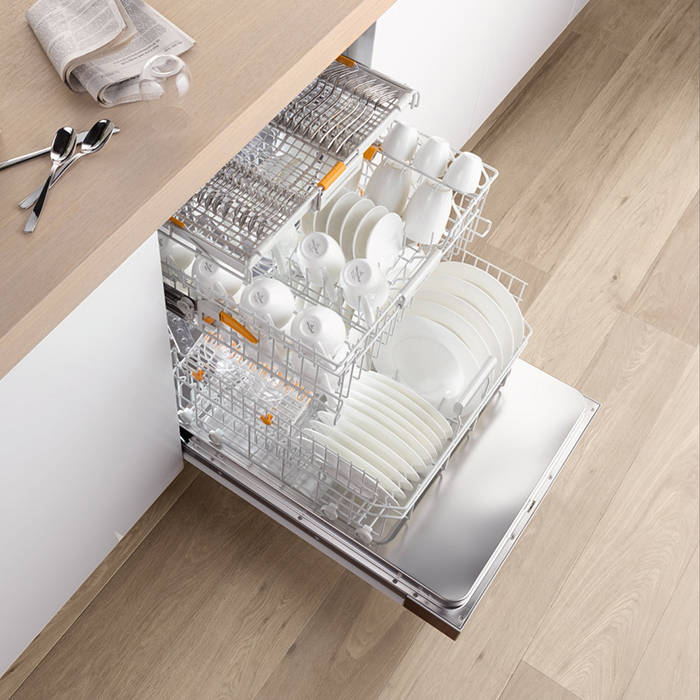 Miele G6860SCVI 14 Place Setting Fully-Integrated Dishwasher With App  Control