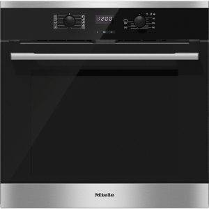 Miele H2561BP ContourLine Single MultiFunction Pyrolitic Oven With Easy Control