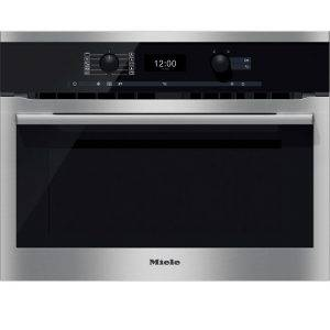 Miele H6300BM ContourLine Combination Microwave Oven With Automatic Programes