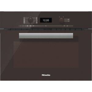 Miele H6400BMHB PureLine 45cm Microwave Combination Oven