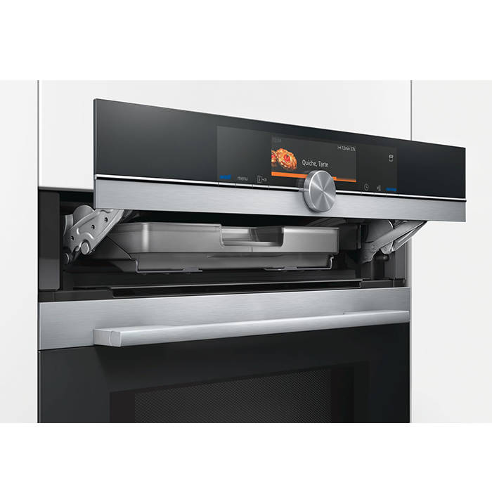 Siemens HN678G4S1B IQ700 Single oven with microwave & pulseSteam ...
