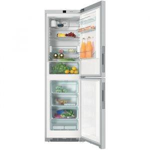Miele KFN29243DEDT 201cm Tall Frost Free Fridge Freezer With Click2Open & 4 Freezer Draws