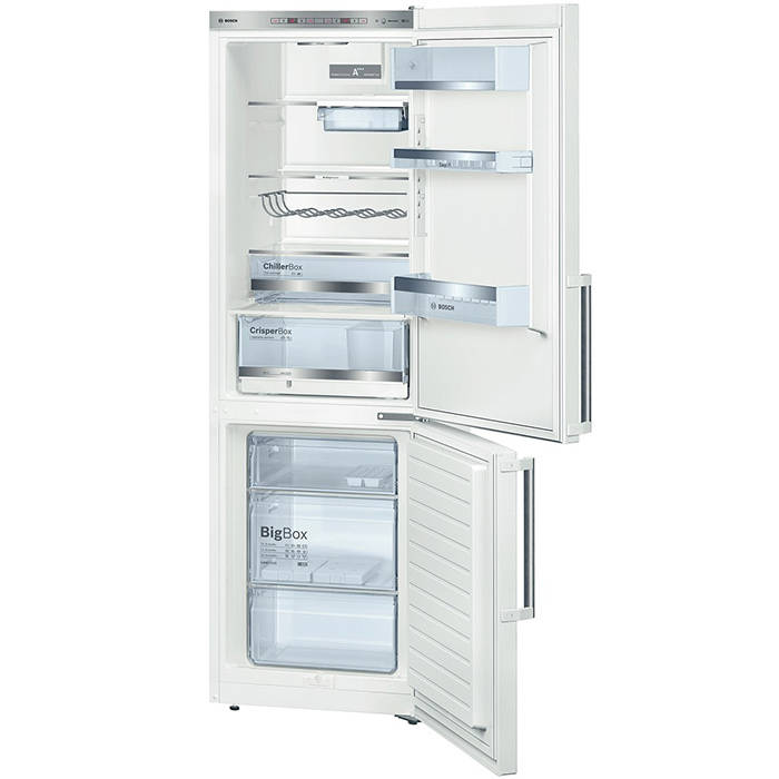 Bosch KGE36BW41G A+++ Rated 186cm High Fridge Freezer