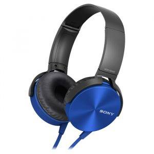 Sony MDRXB450APL Over Ear Extra Bass Headphones
