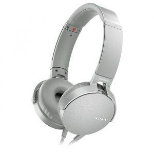 Sony MDRXB550APW EXTRA BASS Headphones