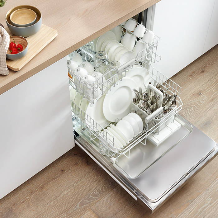 Miele G4203I Semi Integrated 13 Place Setting Dishwasher With cutlery Basket