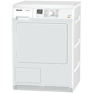 Miele TDA150C Classic 7Kg Condenser Tumble Dryer With Drum Lighting - Slanted Facia