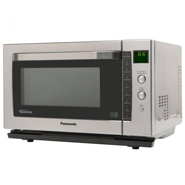 Panasonic NNCF778SBPQ Flatbed Microwave Oven 27 Litre