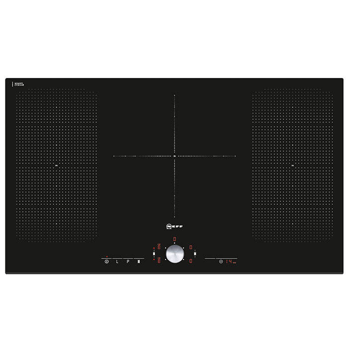 neff t51t95x2 918mm wide induction hob with flexinduction gerald giles. Black Bedroom Furniture Sets. Home Design Ideas